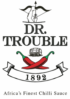 Dr Trouble Hot Sauce Logo